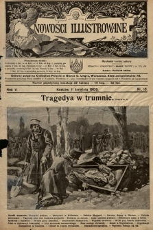 Nowości Illustrowane. 1908, nr15