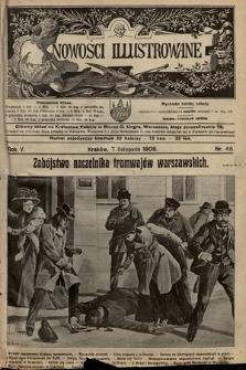 Nowości Illustrowane. 1908, nr45