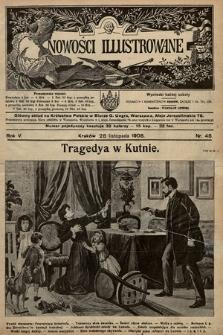 Nowości Illustrowane. 1908, nr48