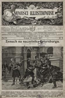 Nowości Illustrowane. 1907, nr2