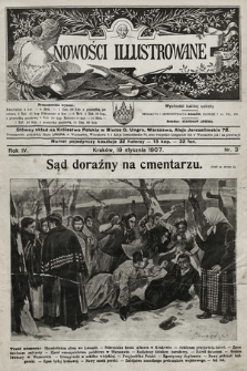 Nowości Illustrowane. 1907, nr3