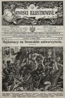 Nowości Illustrowane. 1907, nr5