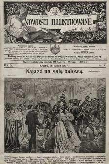 Nowości Illustrowane. 1907, nr7