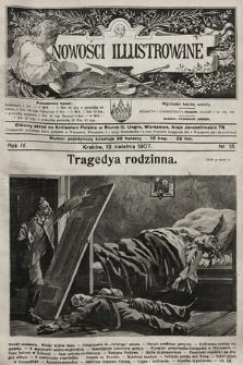 Nowości Illustrowane. 1907, nr15