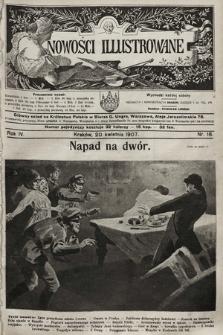 Nowości Illustrowane. 1907, nr16