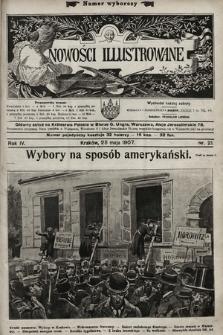 Nowości Illustrowane. 1907, nr21