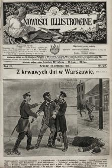 Nowości Illustrowane. 1907, nr24