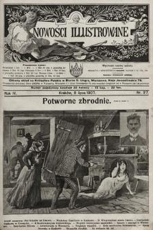 Nowości Illustrowane. 1907, nr27