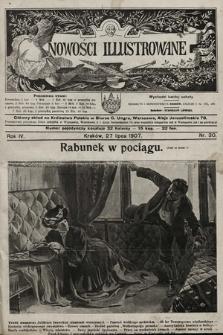 Nowości Illustrowane. 1907, nr30