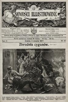 Nowości Illustrowane. 1907, nr31