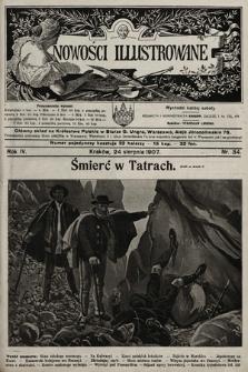 Nowości Illustrowane. 1907, nr34