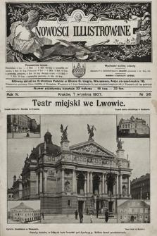 Nowości Illustrowane. 1907, nr36