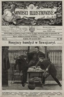 Nowości Illustrowane. 1907, nr39