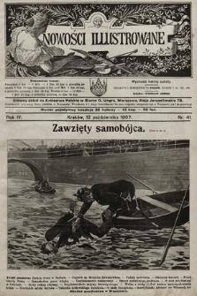 Nowości Illustrowane. 1907, nr41