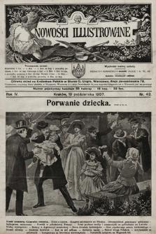 Nowości Illustrowane. 1907, nr42