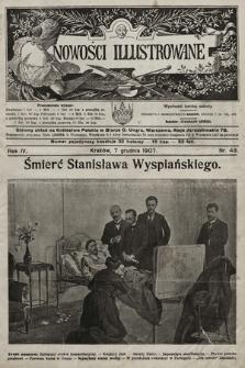 Nowości Illustrowane. 1907, nr49