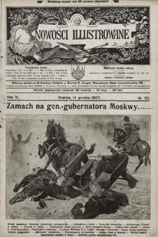 Nowości Illustrowane. 1907, nr50