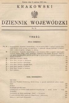 Krakowski Dziennik Wojewódzki. 1932, nr11