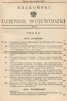 Krakowski Dziennik Wojewódzki. 1937, nr24