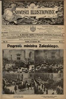 Nowości Illustrowane. 1914, nr2