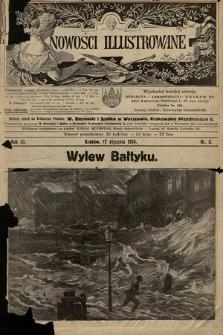 Nowości Illustrowane. 1914, nr3