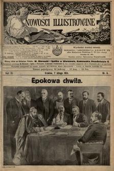 Nowości Illustrowane. 1914, nr6