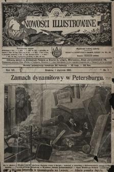 Nowości Illustrowane. 1910, nr1