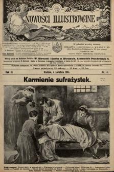 Nowości Illustrowane. 1914, nr14