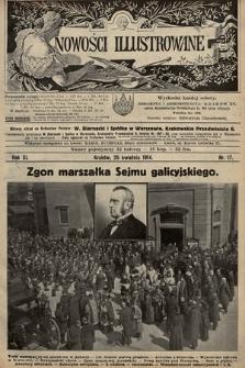 Nowości Illustrowane. 1914, nr17