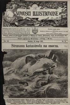 Nowości Illustrowane. 1910, nr8