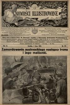 Nowości Illustrowane. 1914, nr27