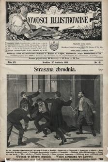 Nowości Illustrowane. 1910, nr18