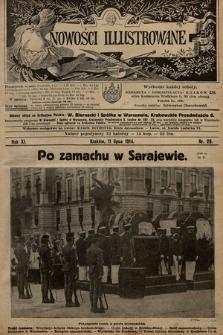 Nowości Illustrowane. 1914, nr28