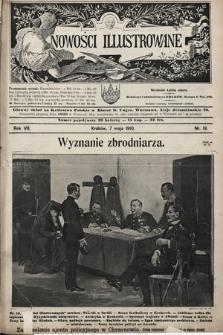 Nowości Illustrowane. 1910, nr19