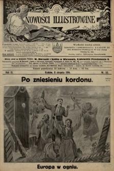 Nowości Illustrowane. 1914, nr32