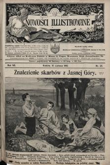 Nowości Illustrowane. 1910, nr25