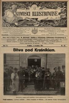 Nowości Illustrowane. 1914, nr36