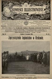 Nowości Illustrowane. 1914, nr37