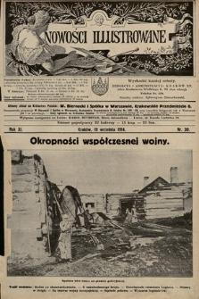 Nowości Illustrowane. 1914, nr38
