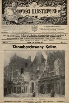 Nowości Illustrowane. 1914, nr39