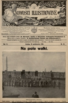 Nowości Illustrowane. 1914, nr41