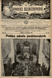 Nowości Illustrowane. 1914, nr46