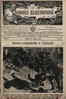 Nowości Illustrowane. 1910, nr35