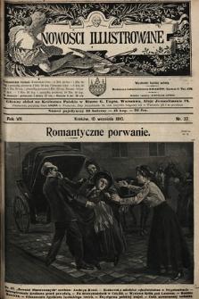 Nowości Illustrowane. 1910, nr37