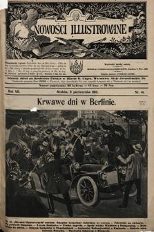 Nowości Illustrowane. 1910, nr41