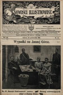 Nowości Illustrowane. 1910, nr43