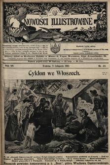 Nowości Illustrowane. 1910, nr45