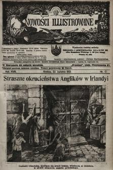 Nowości Illustrowane. 1921, nr17