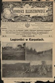 Nowości Illustrowane. 1915, nr2
