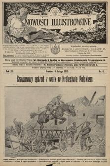 Nowości Illustrowane. 1915, nr6